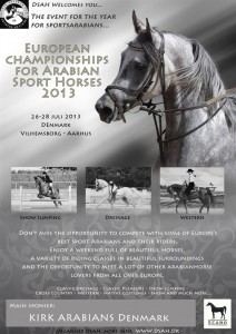 campeonato de caballo árabe de deporte