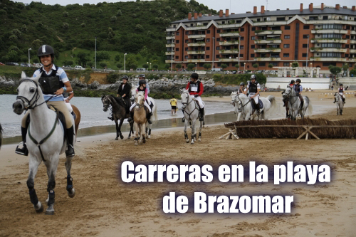 Carreras playa Brazomar