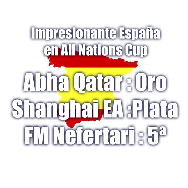 all natios cup España