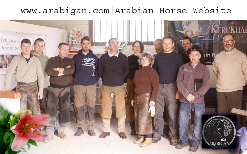 alumnos del curso de balance f del piedel caballo