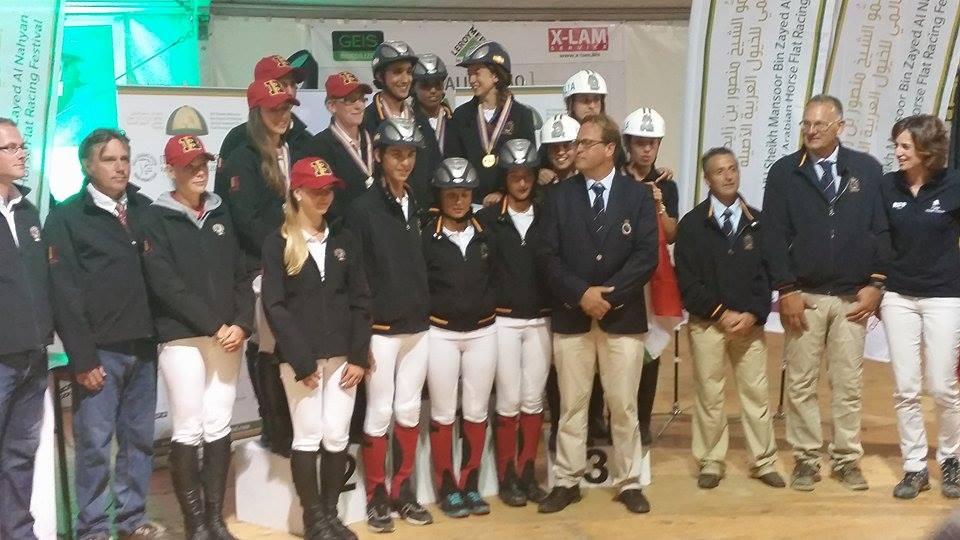Equipo español en Verona