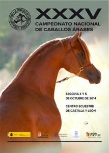 Campeonato Nacional de caballos árabes 2014- Arábigan
