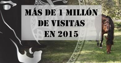 vídeos de caballos más vistos en 2015