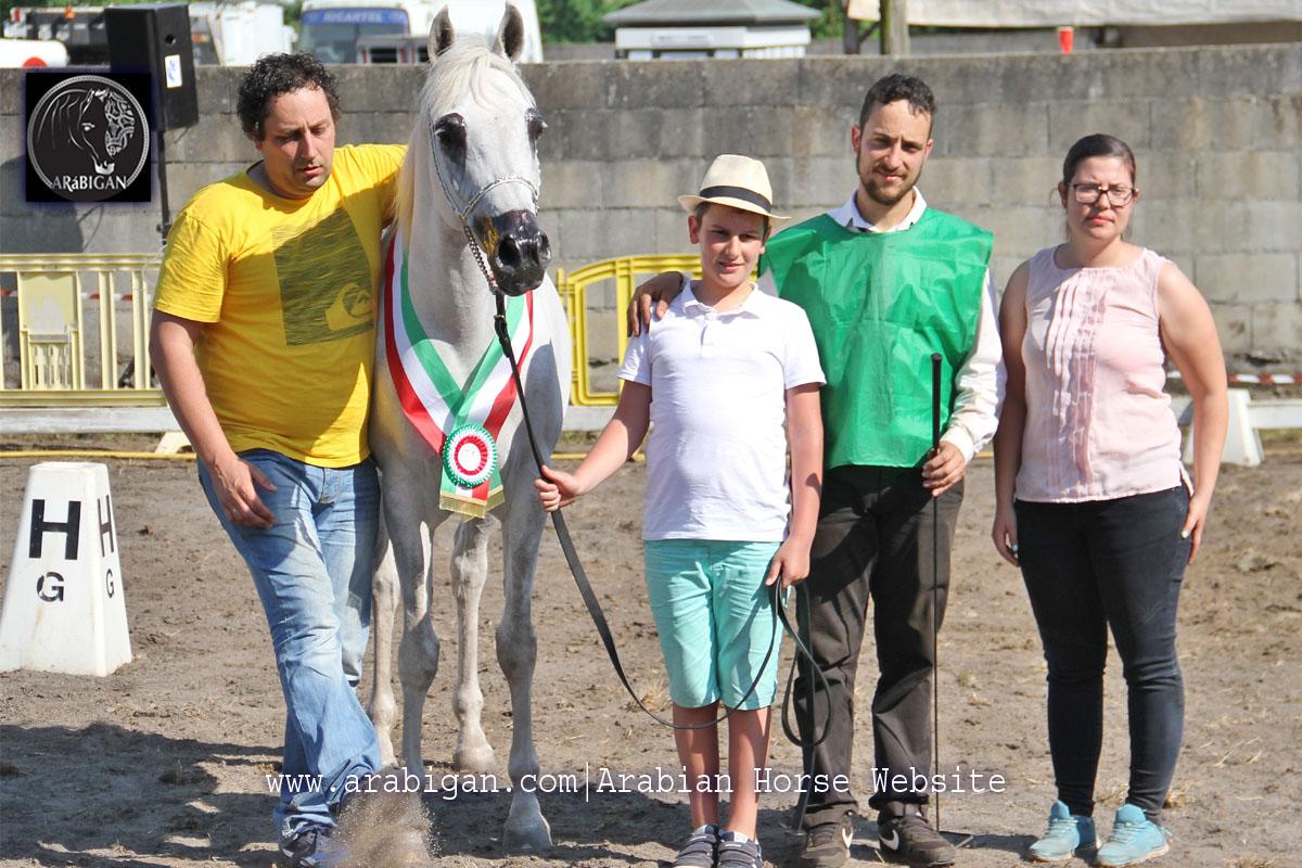 campeona de yeguas A Estrada 2017