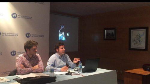 caballos arabes formación Clinic Agcca impartido por Giacomo Capacci