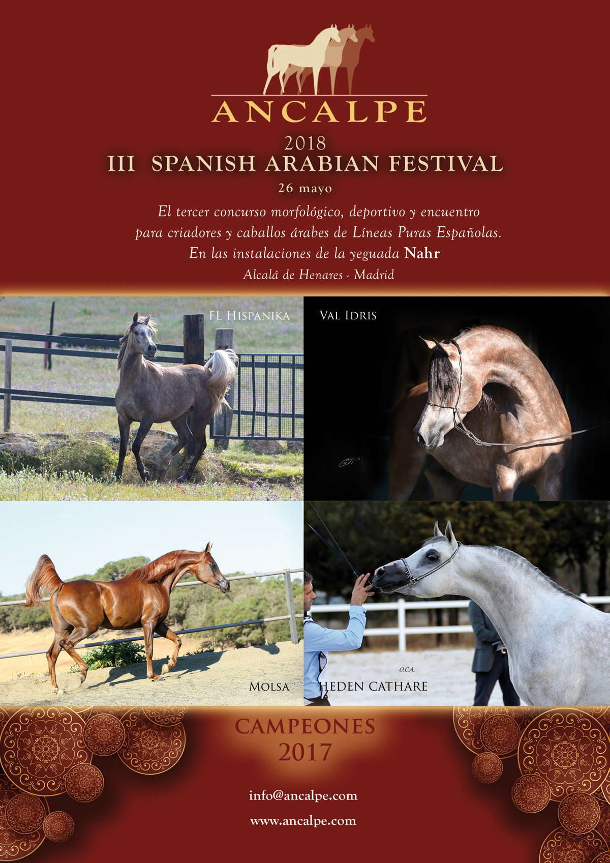 spanish arabian festival alcala henares
